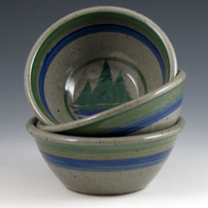 Custard Cup & Handmade Pottery u0026 Stoneware Dishes in Maine by Saltbox Pottery